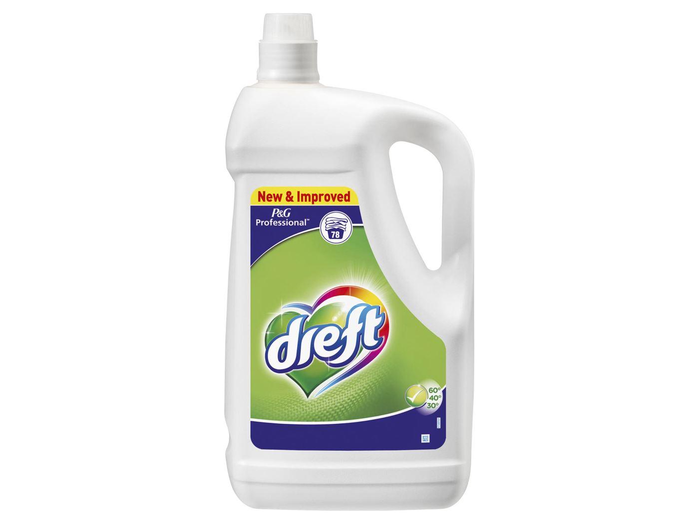dreft vloeibaar wasmiddel regular (78sc)