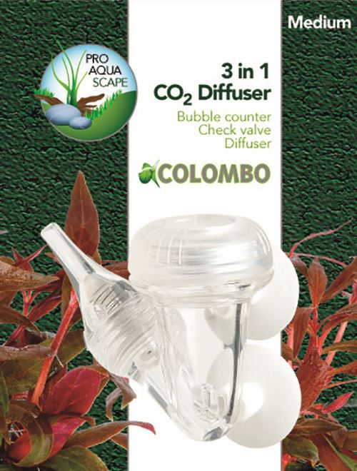 colombo co2 3-in-1 diffusor medium