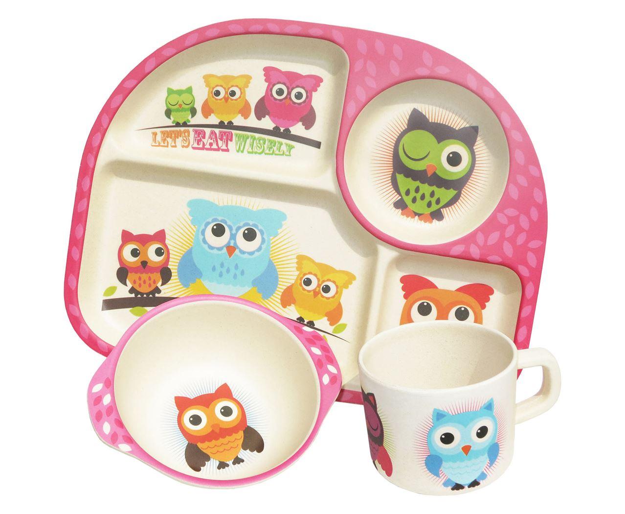 ecoffee eetset owls (3-delig)