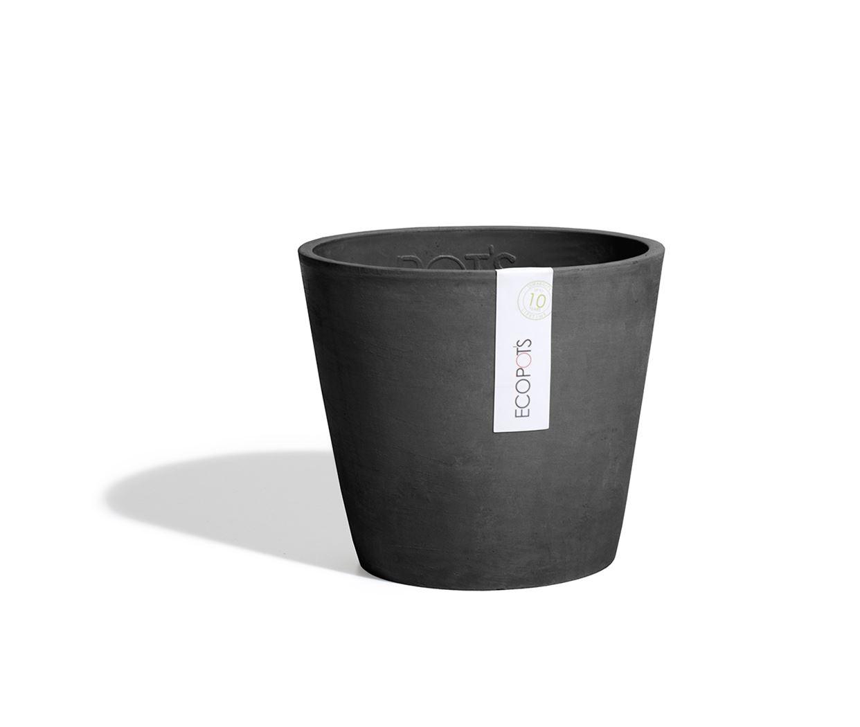 ecopot's amsterdam mini dark grey