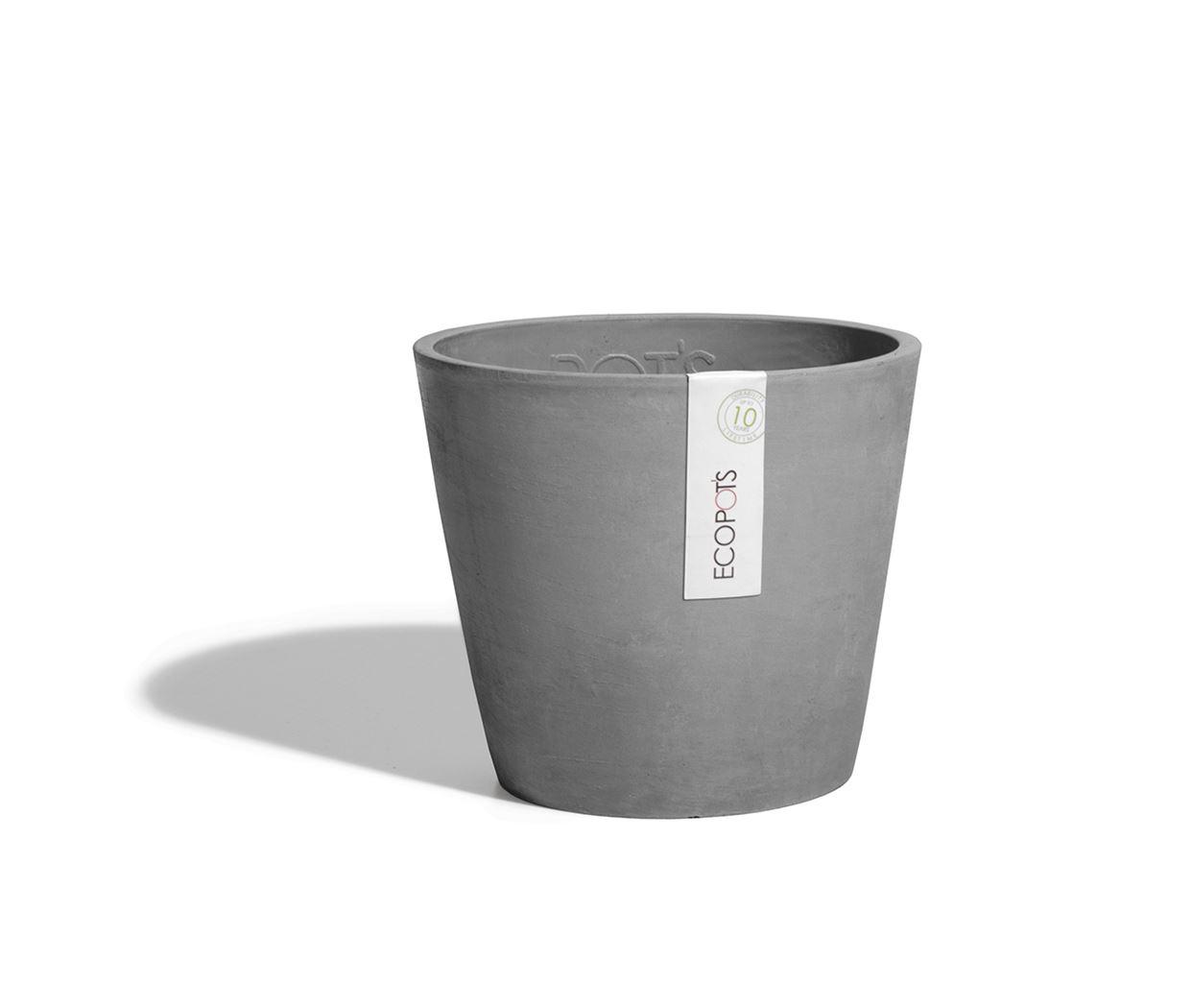 ecopot's amsterdam mini grey