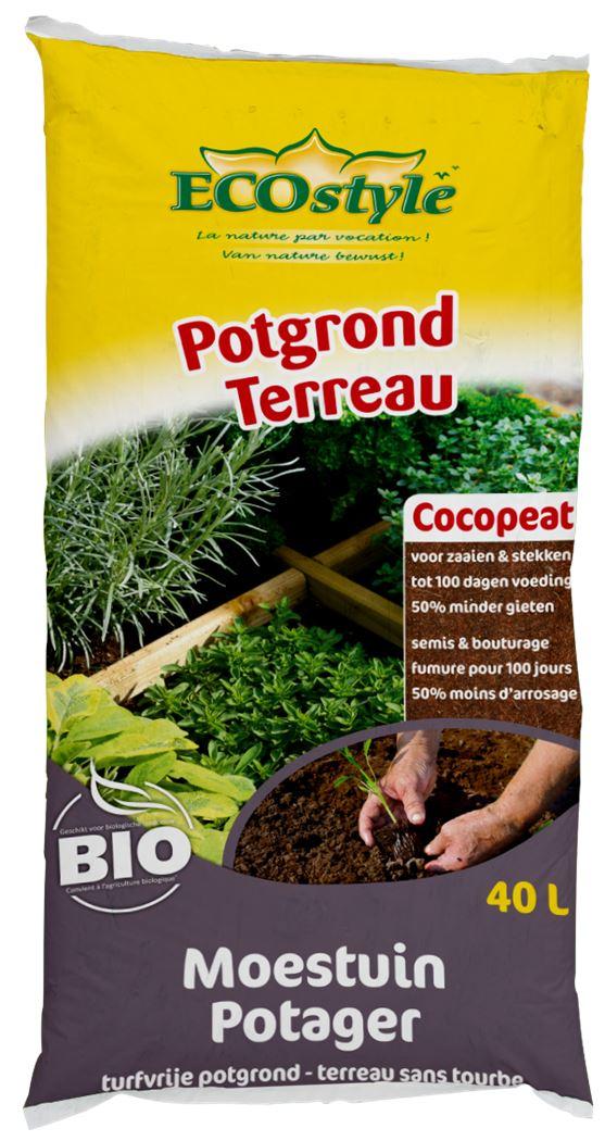 ecostyle cocopeat potgrond moestuin