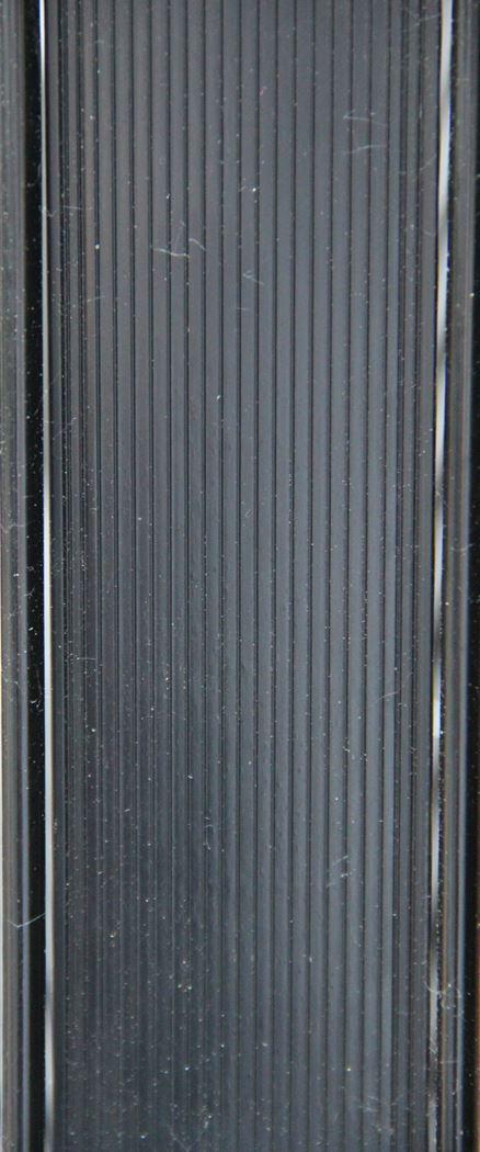 effenso fensoplate zwart (mazen: 50mm)