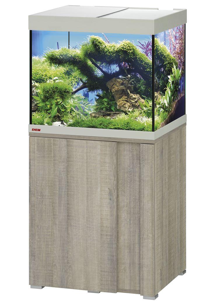 eheim aquarium vivalineled 150 incl.meubel grijs beuk (0613021)