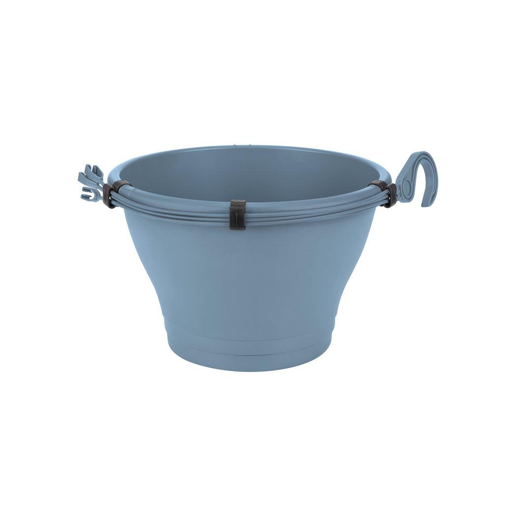elho corsica hangschaal vintage blauw