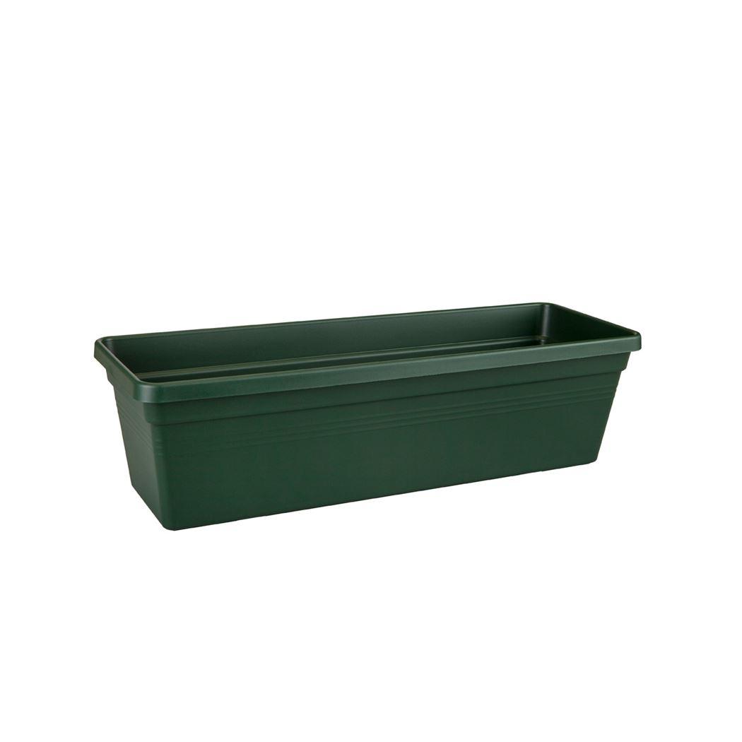 elho green basics balkonbak blad groen