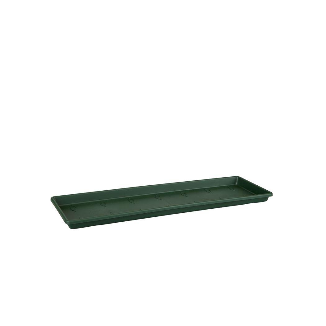 elho green basics balkonbak schotel blad groen