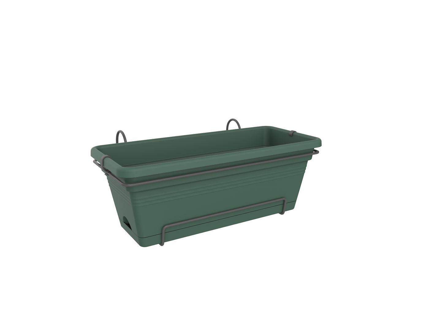 elho green basics balkonbak xl allin1 blad groen