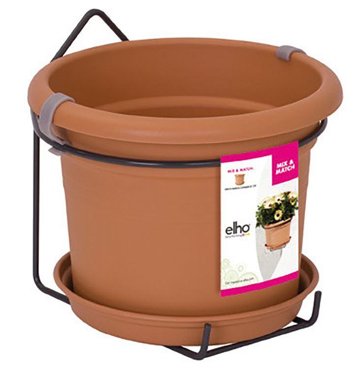 elho green basics muur potholder allin1 mild terra