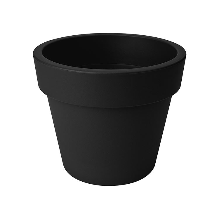 elho green basics top planter living black