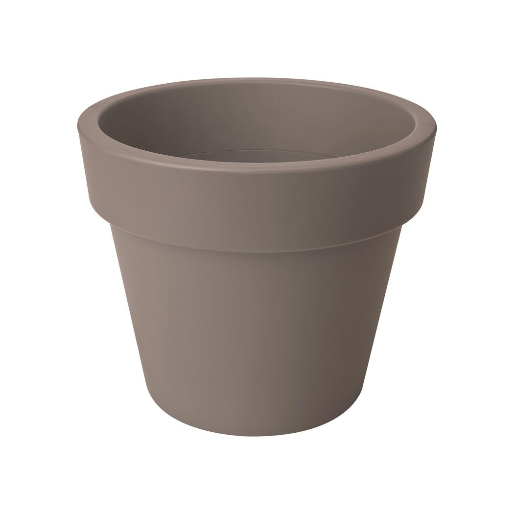 elho green basics top planter taupe