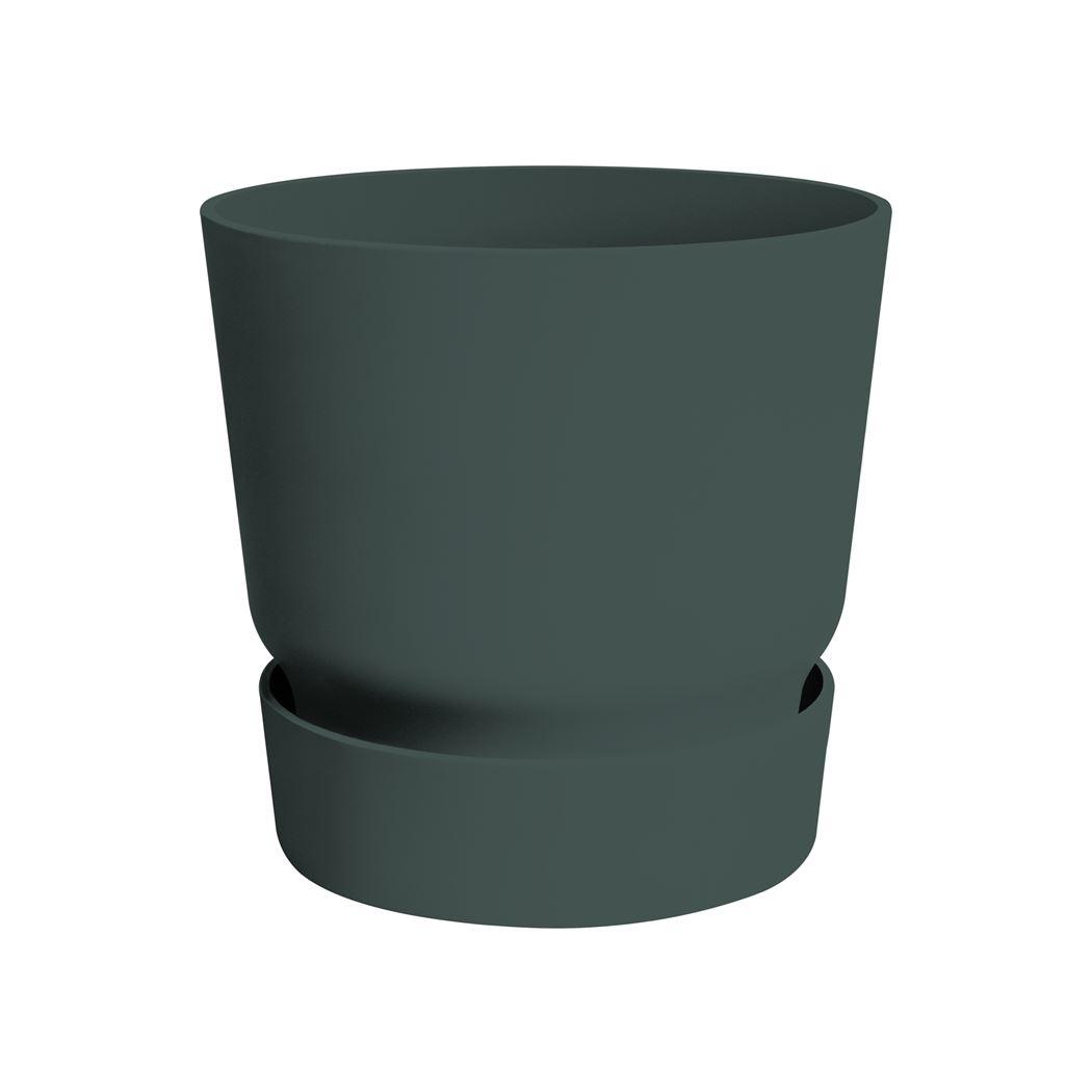 elho greenville rond blad groen