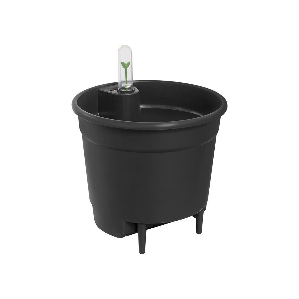 elho self-watering insert living black