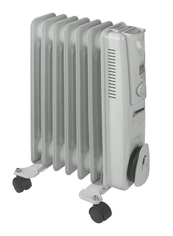 eurom oliegevulde radiator rk1507