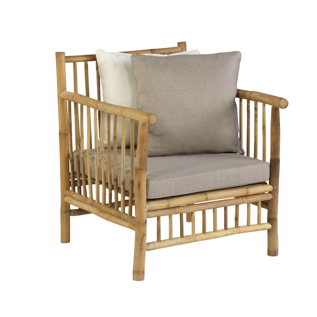 exotan bamboo armchair