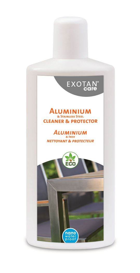 exotan care aluminium & stainless steel cleaner & protector