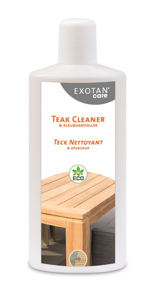 exotan care teak cleaner & colour restorer