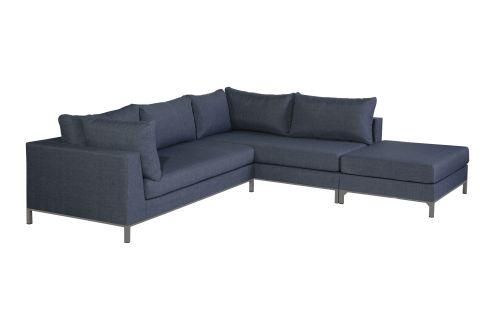 exotan sicilië lounge corner set right with hocker bluejeans