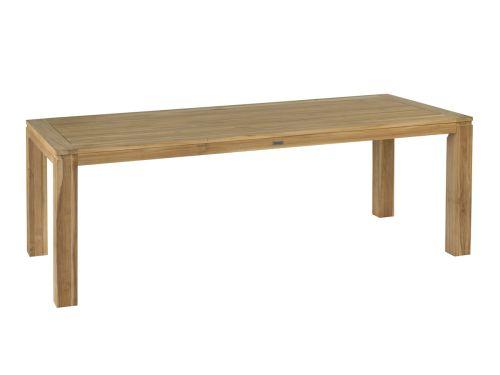 exotan stella rectangular table big slats