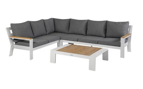 exotan valerie lounge corner set left with coffee table