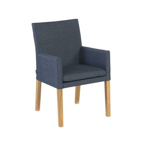 exotan york dining chair blue jeans