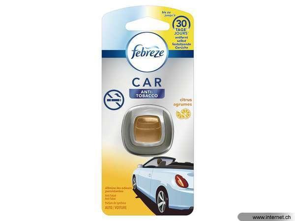 febreze auto clip anti-tobacco citrus