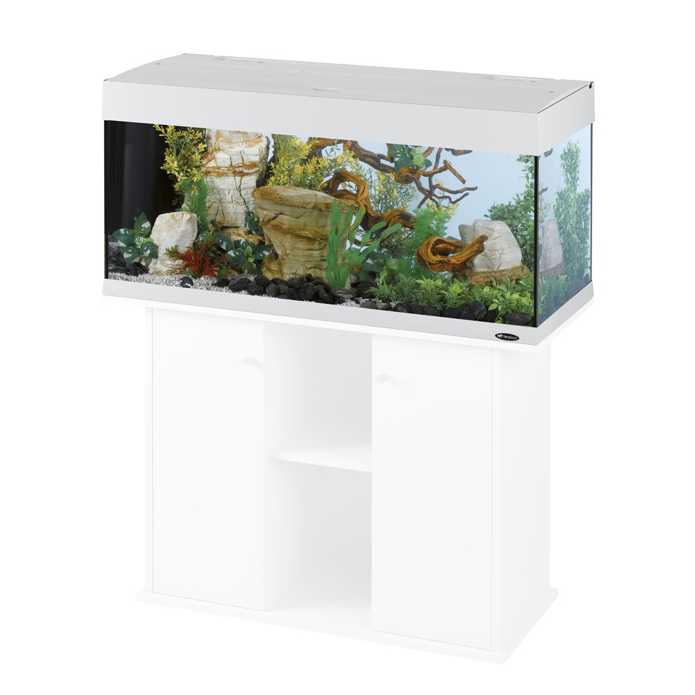 ferplast aquarium dubai 120 wit