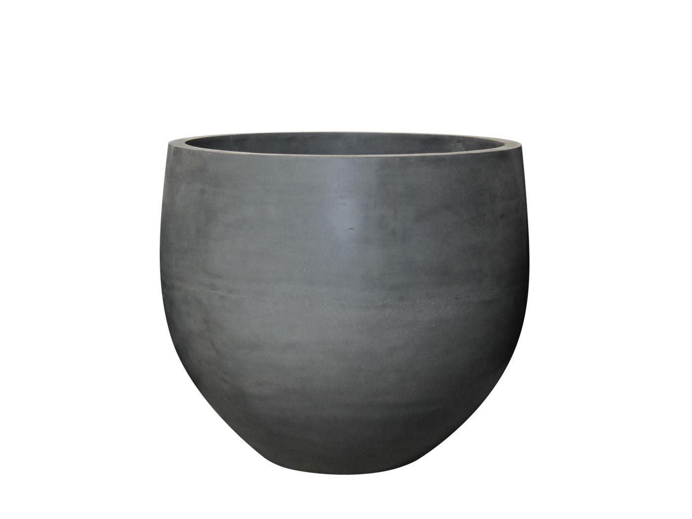 fiberstone big planter grey fiberstone