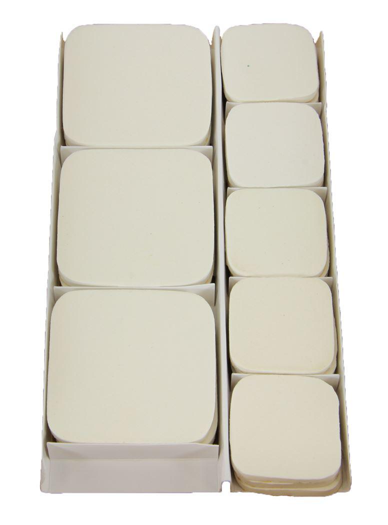 flore-pads wit marmer zelfklever