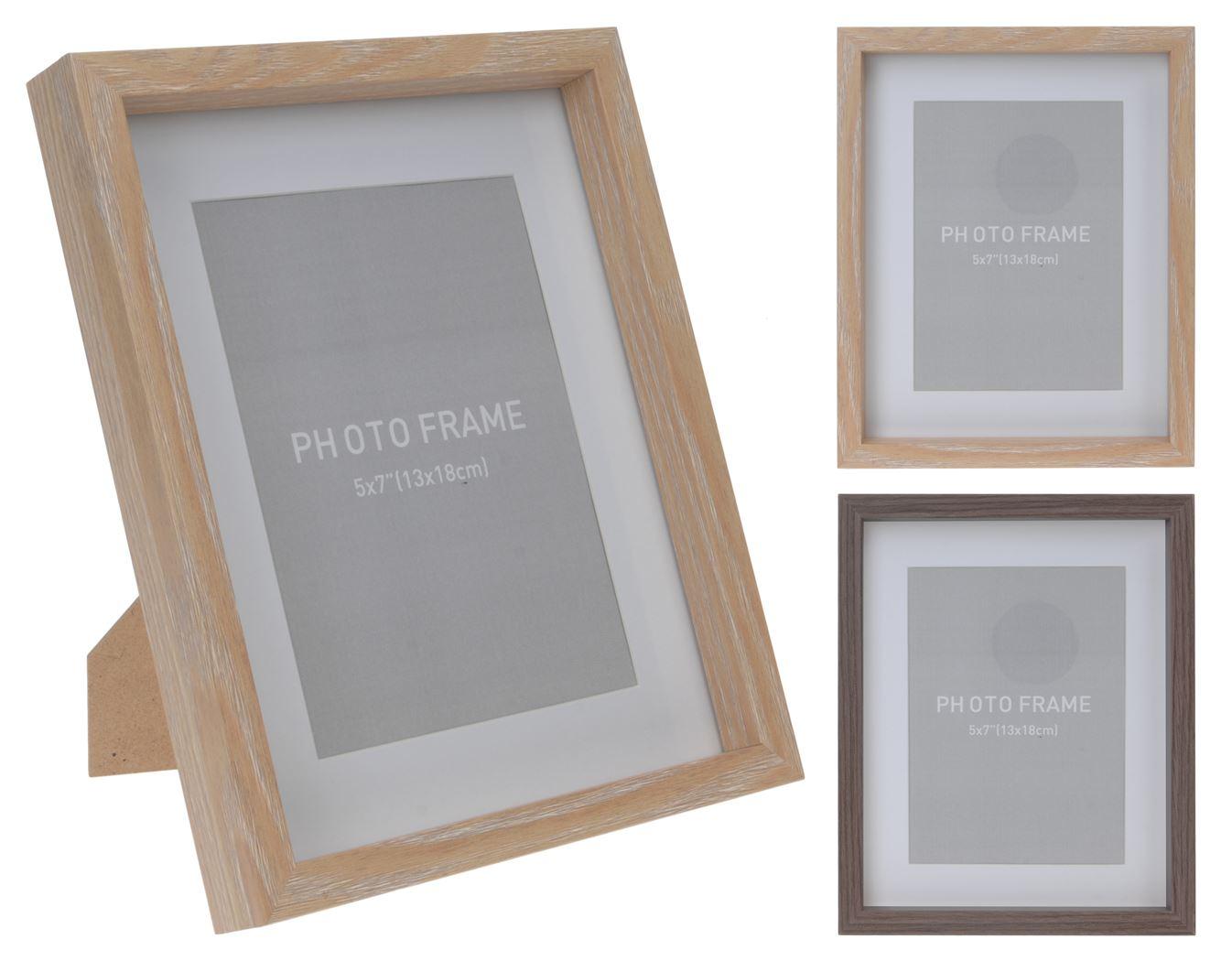 fotolijst hout (2 kleuren ass.)