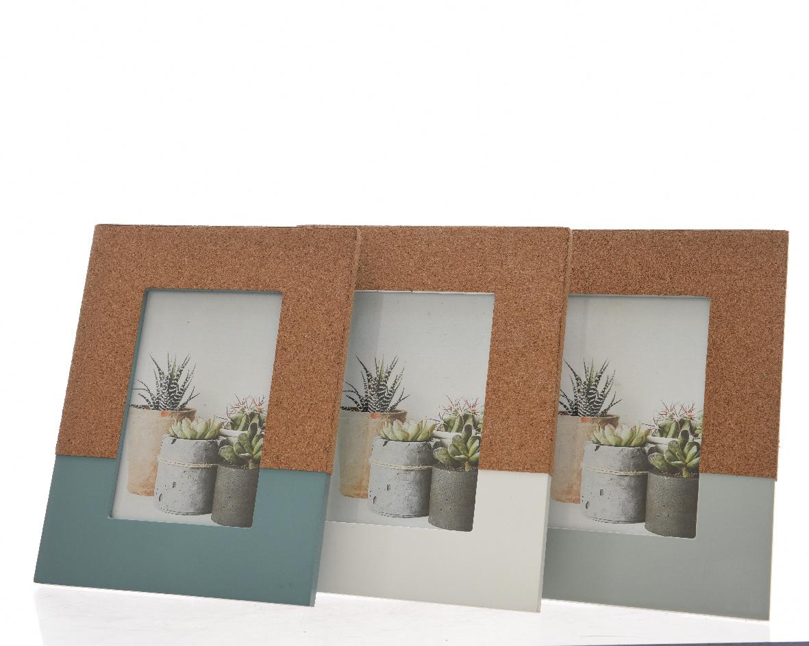 fotolijst mdf kurk (3 kleuren ass.)