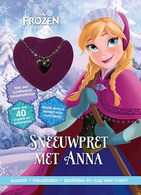 disney frozen sneeuwpret anna+kett.