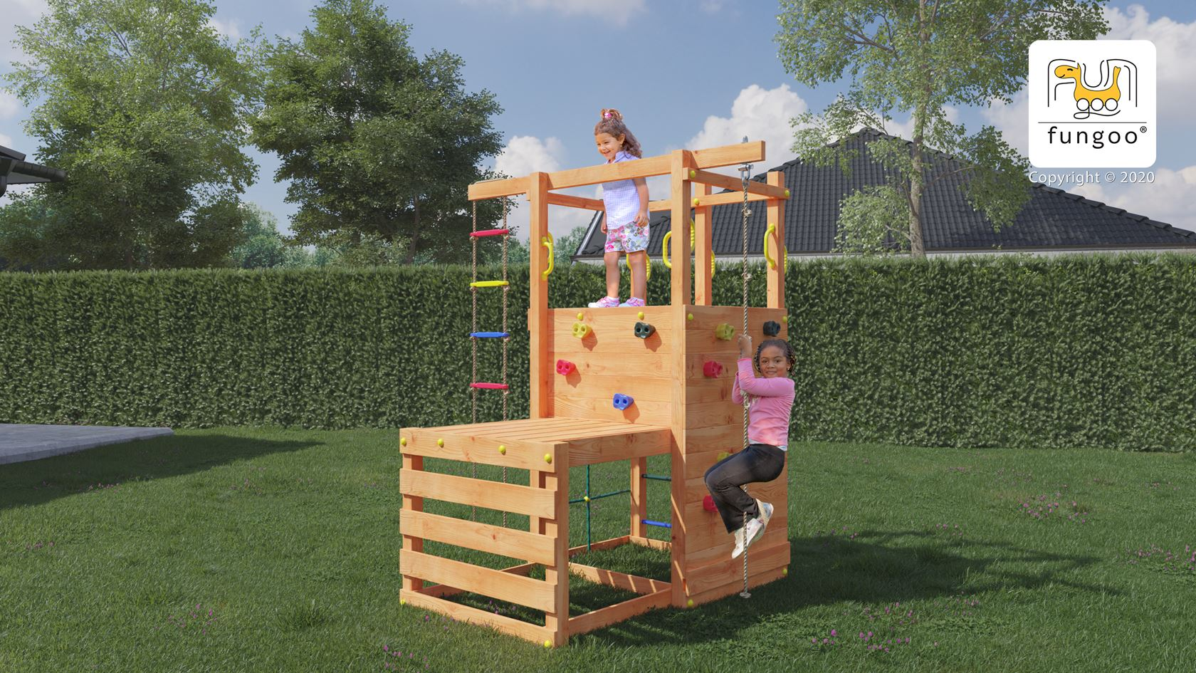 fungoo speelset mini climbing star1
