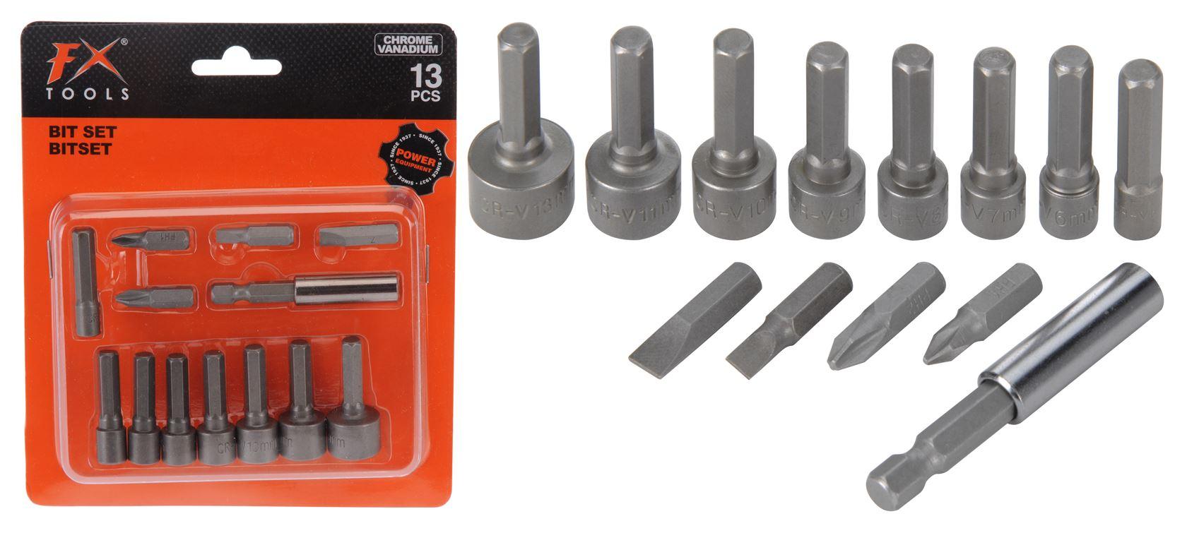 fx tools bitset chrome vanadium (13-dlg)