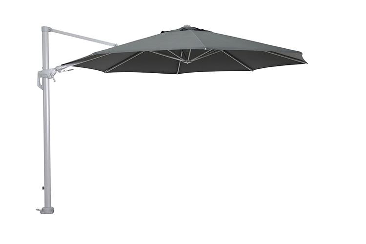 garden impressions hawaii parasol arctic grey/donkergrijs