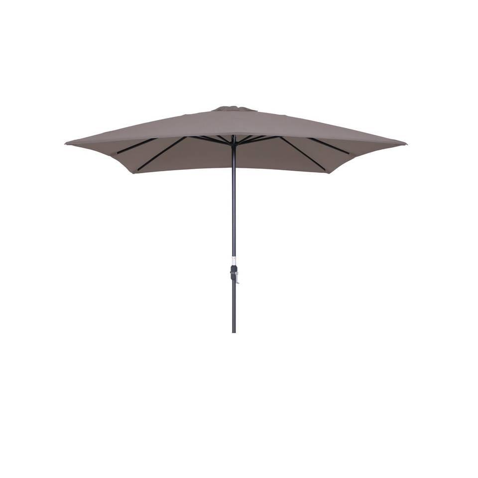 garden impressions lotus parasol carbon black/ taupe