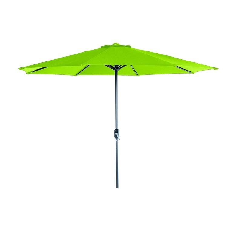 garden impressions lotus parasol carbon black/lime groen