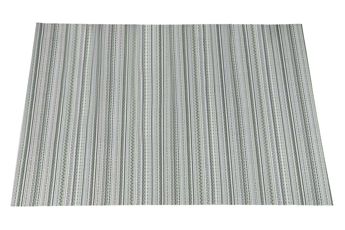 garden impressions striped beach karpet groen