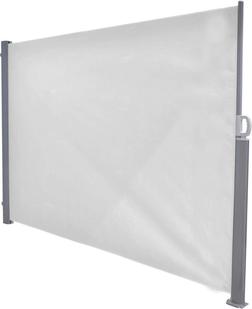 garden impressions windscherm oprolbaar artic grey/off-white