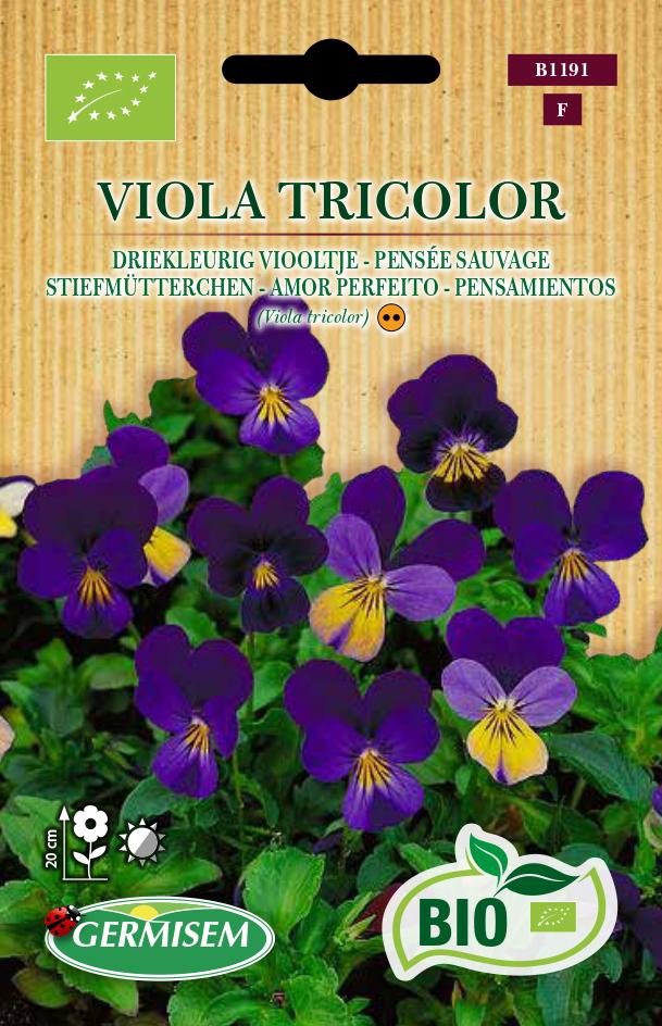 germisem bio viooltje tricolor