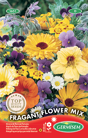 germisem mengeling eenjarige geurende bloemen