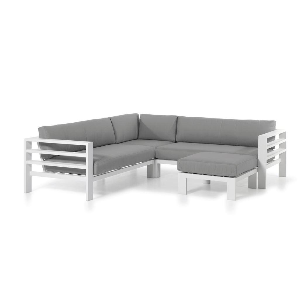 gescova cadiz modular set alu charc cushions grey