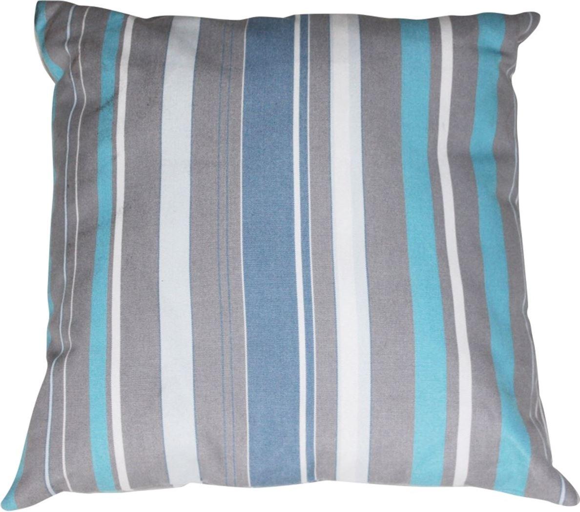 gescova sierkussen stripe blue/grey