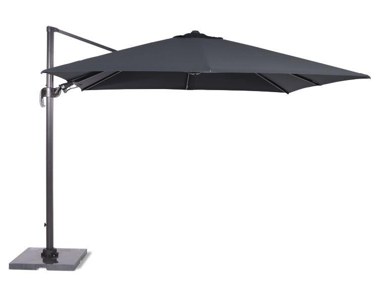 garden impressions parasol hawai royal grey/donkergrijs