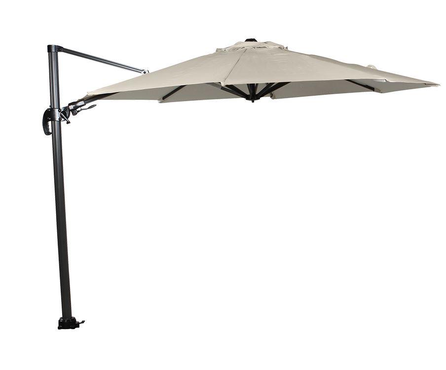 garden impressions parasol hawai royal grey/ecru