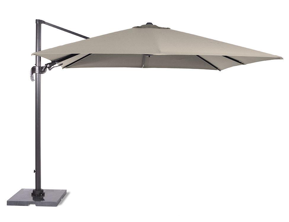 garden impressions parasol hawai royal grey/sand