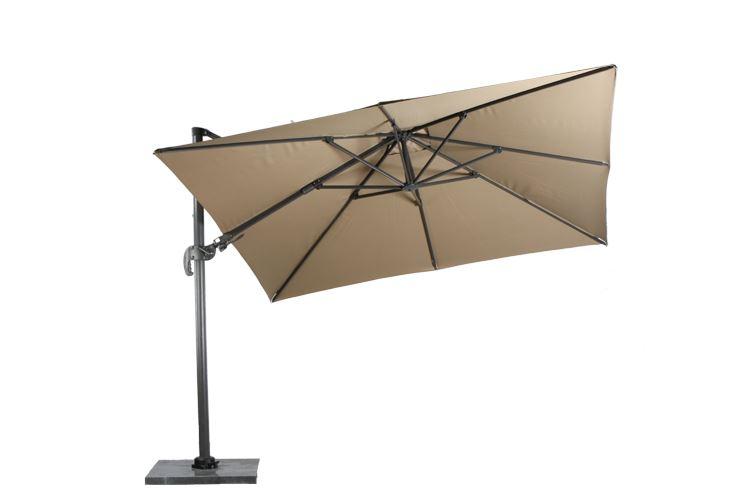 garden impressions parasol hawai royal grey/taupe