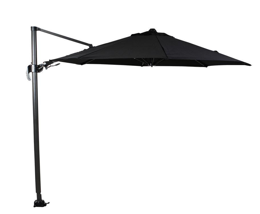 garden impressions parasol hawai royal grey/zwart