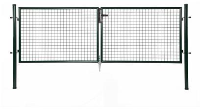 giardino dubbele poort groen ral6005