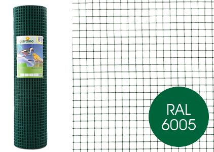 giardino gelast gaas geplastificeerd groen (mazen: 1.3 x 1.3cm)